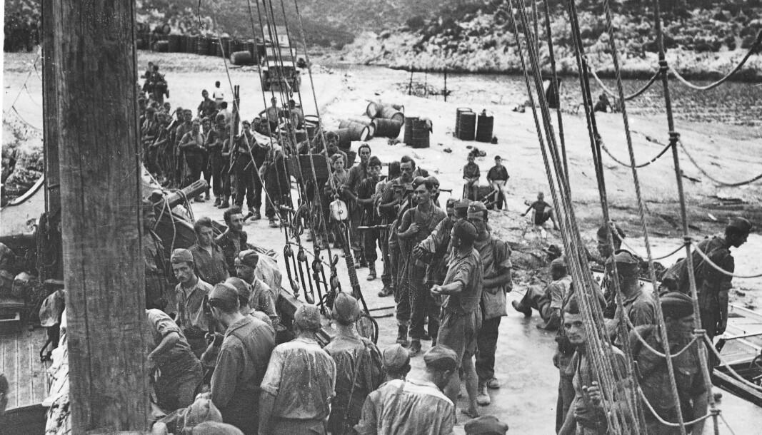PARTISANER: Norske frontkjempere kjempet for Adolf Hitler i Jugoslavia under 2. verdenskrig, skriver Sylo Taraku. Her ser vi partisaner under krigen.
