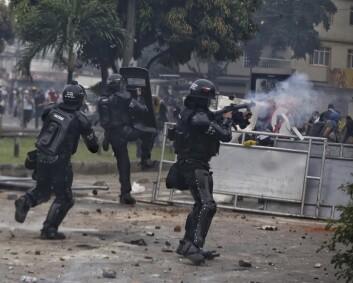 FN fordømmer overdreven maktbruk mot demonstranter i Colombia