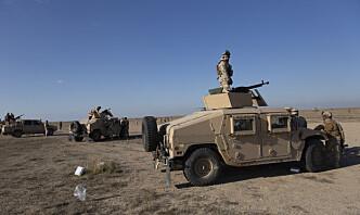 Angrep mot norskvoktet flybase i Irak