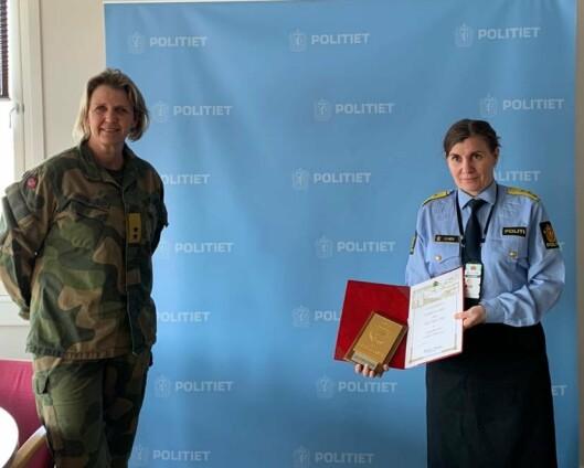 Politimester i Finnmark fikk HV-plakett i gull