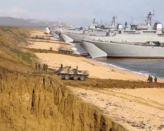 Pentagon: 80.000 russiske soldater fortsatt utplassert på grensen til Ukraina