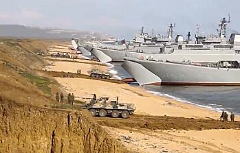Pentagon: 80.000 russiske soldater fortsatt grensen til Ukraina