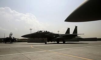 USA bisto i luftangrep i Afghanistan