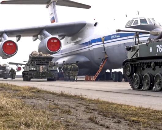Ekspert om russiske styrker: - Posering