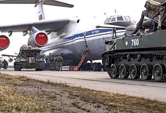 Ekspert om russiske styrker:- Posering
