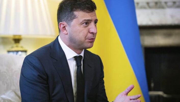 PRESIDENT: Ukrainas president Volodymyr Zelenskyj.