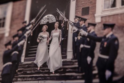Hanna og Kristin giftet seg i 2019.