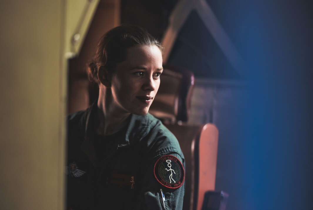Kristin er navigatør på Orion-fly. Hun fortsetter på Andøya så lenge Orion-flyene opererer derfra.