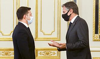 Blinken lover fortsatt støtte til Ukraina