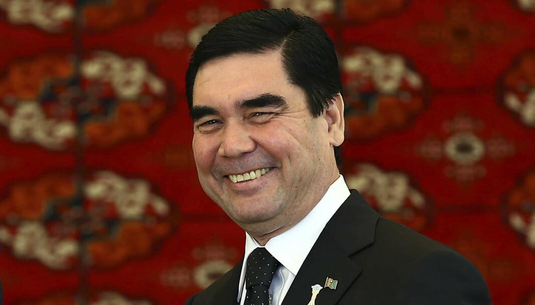 PRESIDENT: Gurbanguly Berdymukhamedov har sittet som president i Turkmenistan siden 2007.