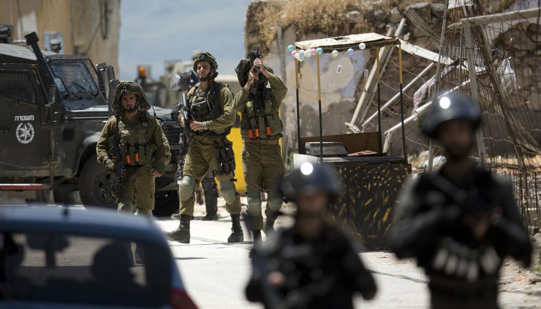 ÅPNET ILD: Det ble åpnet ild mot en israelsk grensestasjon nær Jenin.