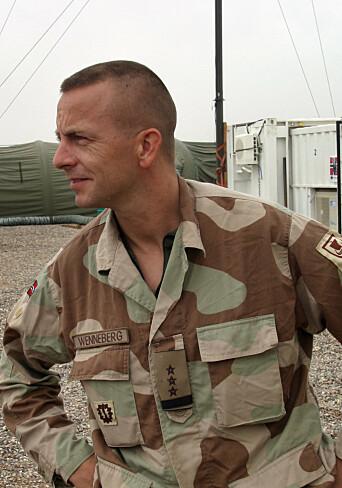 INTERNASJONALE OPERASJONER: Rune Wenneberg fra sin tid i Irak, som nestkommanderende i det norske ingeniørkompaniet.