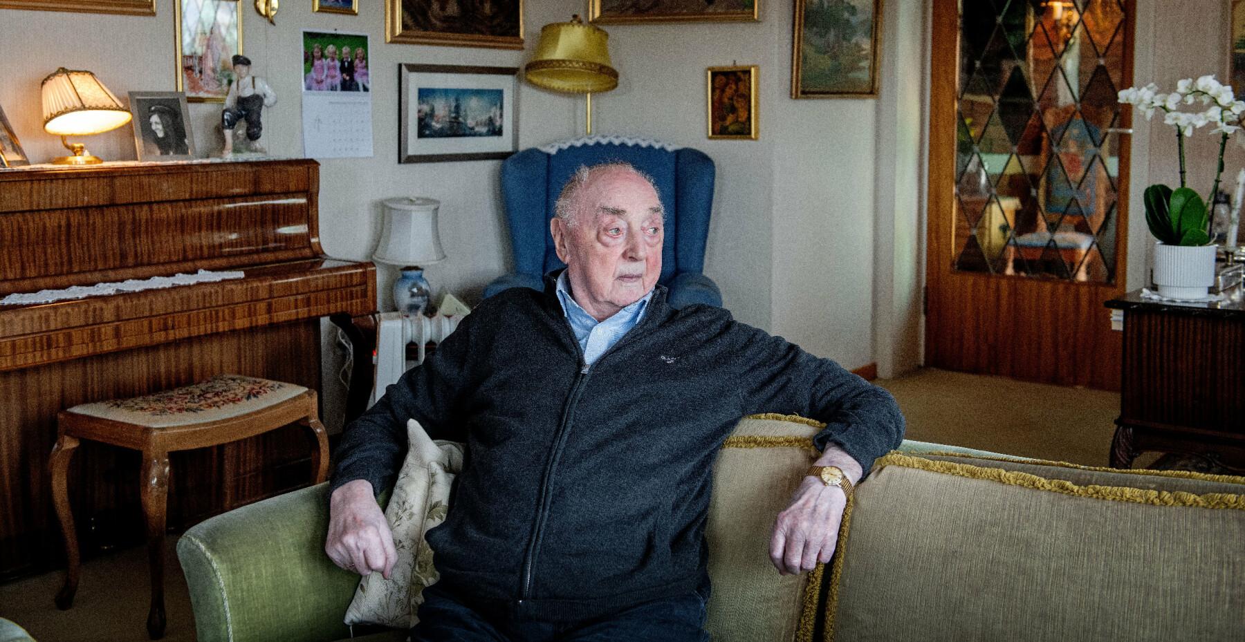 Jakob Strandheim (101) var en del av Shetlandsgjengen under 2. verdenskrig.