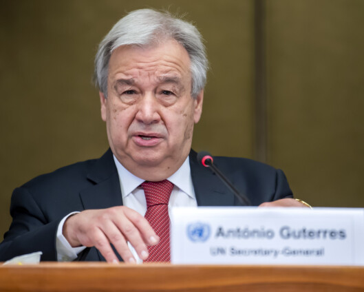 FN-sjefen dypt bekymret for uroen i Jerusalem