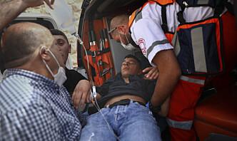 Israelsk politi stormet Haram al-Sharif i Jerusalem – hundrevis skadd
