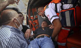 Søreide: Frykter at Jerusalem-uro kommer ut av kontroll