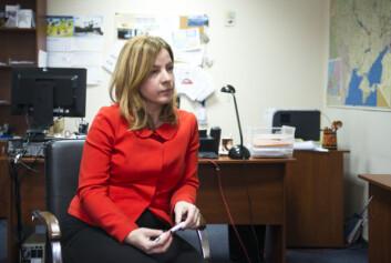 Aleska Simkic er nestkommanderende i OSSE-operasjonen i Ukraina.
