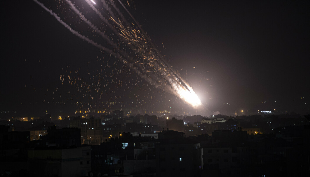 RAKETTANGREP:Israels militære opplyser tirsdag morgen at de har drept 15 medlemmer av Hamas og Islamsk hellig krig etter at det ble sendt omkring 200 raketter fra Gaza og mot Israel mandag og tirsdag.