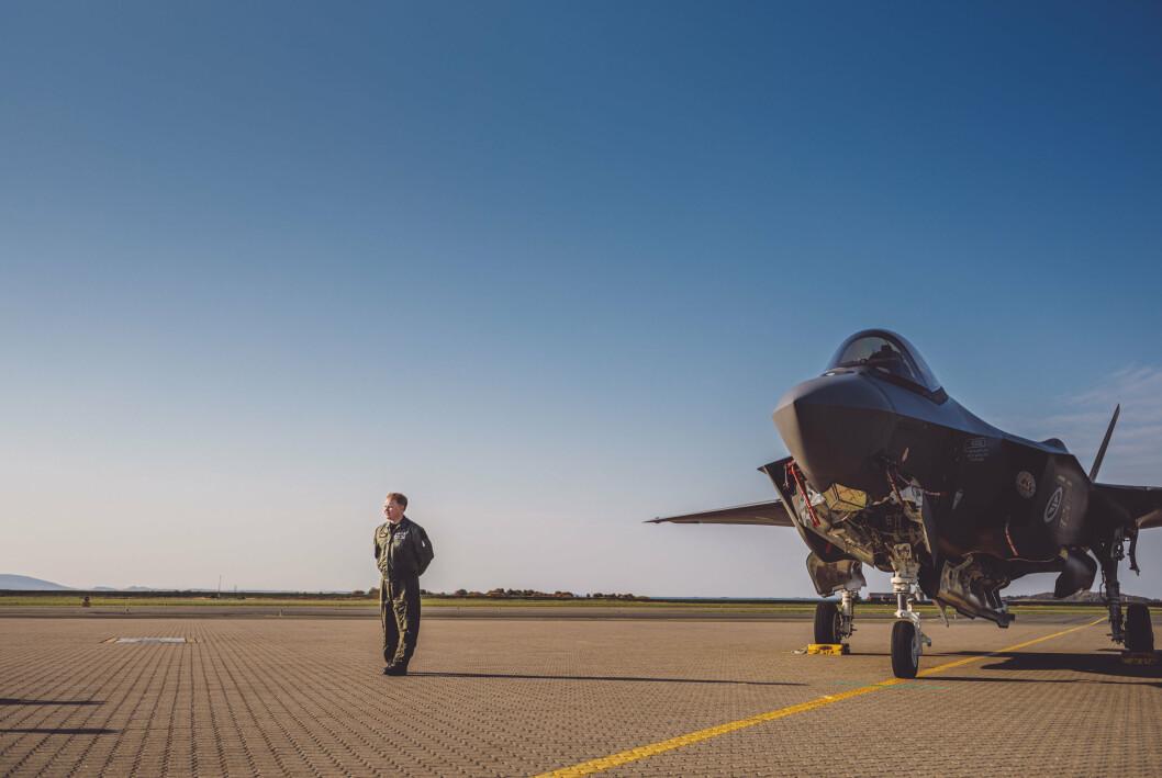 F-35 er et av de store materiellprosjektene til Forsvaret som i veldig stor grad har blitt påvirket av valutaendringer.