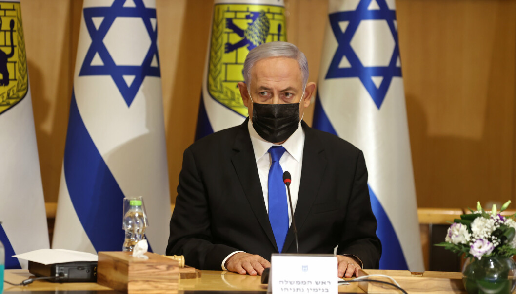 TRUSSEL: Statsminister Benjamin Netanyahu sier de militante gruppene på Gazastripen skal få betale dyrt for rakettangrepene mot Israel.