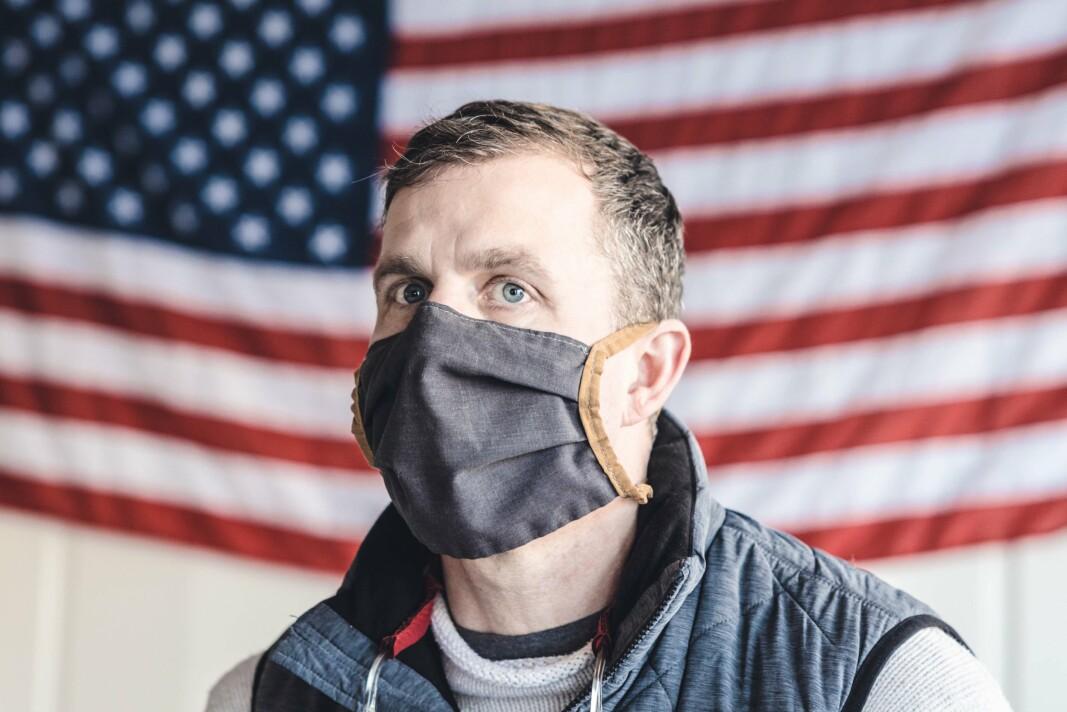 KAPTEIN: Jared Smith er skipssjef på USS «New Mexico».