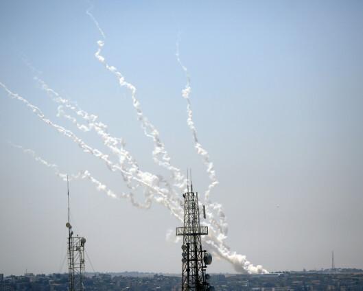 Tyskland: Hamas rakettangrep er terror