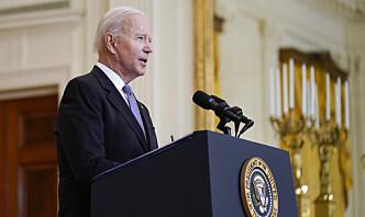 Det hvite hus: Biden støtter en våpenhvile i Israel