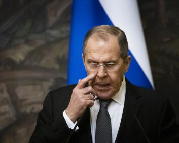Lavrov advarer Norge mot å la Nato slippe til i Arktis