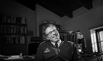 Nestkommanderende ved Forsvarets museer er en filosof av utdanning, hvor jobben er å tenke.