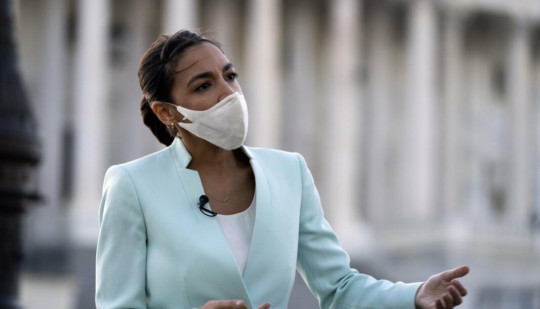 ANGREPSRAKETTER: Kongressrepresentant Alexandria Ocasio-Cortez har lagt fram et forslag om å stanse amerikansk salg av angrepsraketter til Israel.