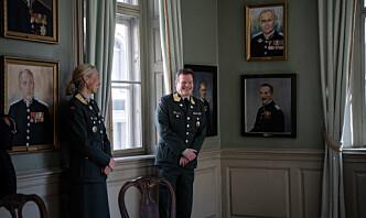 To sjefer fra Krigsskolen beæret med portretter