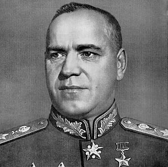 MARSKALK: Gerogij Zjukov var øverstkommanderende for Den røde armé.