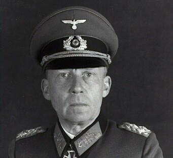 GENERAL: Gotthard Heirnrici ledet det tyske forsvaret av Seelow-høydene.