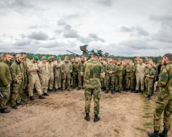 Soldater føler at de ikke blir verdsatt og anerkjent
