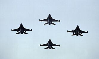 F-16 deltar for siste gang