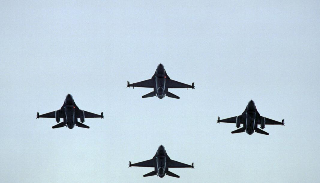 F-16: Det blir siste gang norske F-16 deltar under øvelse ACE i juni. Flyet skal nemlig fases ut.