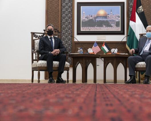 USA gjenopptar forbindelsene til palestinerne