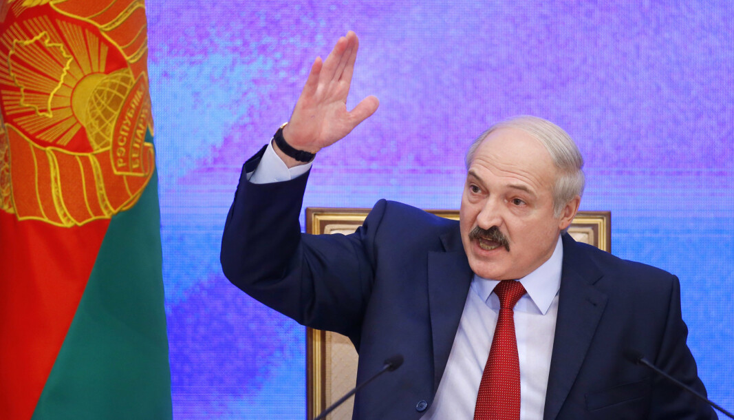 KRITIKK: Hviterussland har fått kritikk fra mange hold etter at et fly ble tvunget til å lande i hovedstaden.