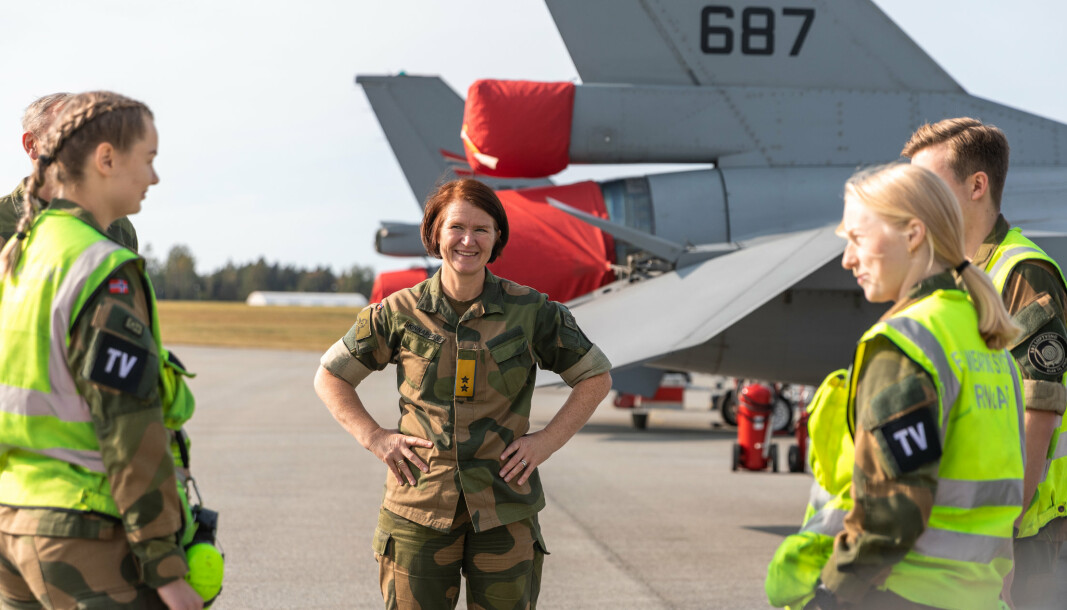 Generalmajor Tonje Skinnarland er sjef for Luftforsvaret.