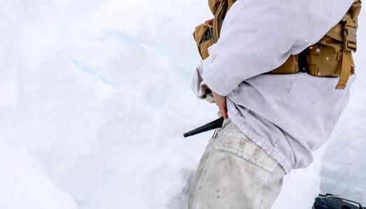 I FELT: Trakten går gjennom flere lag med klær og egner seg derfor godt vintertstid.