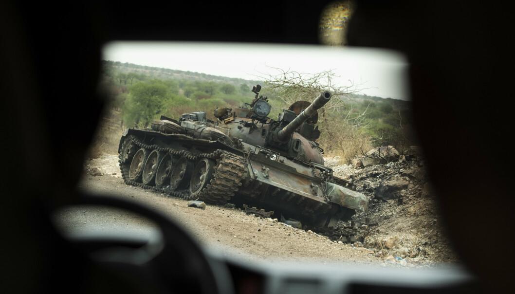 FORDØMMER: USAs president Joe Biden fordømmer den seks måneder lange konflikten i den krigsherjede Tigray-regionen i Etiopia og ber om våpenhvile.