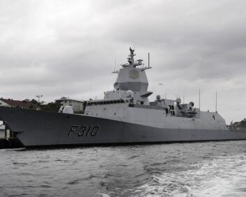 Muggproblem på norske krigsskip