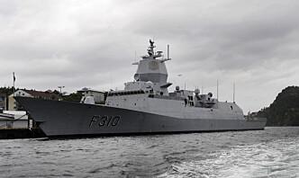 Norsk fregatt skal seile med amerikansk hangarskip