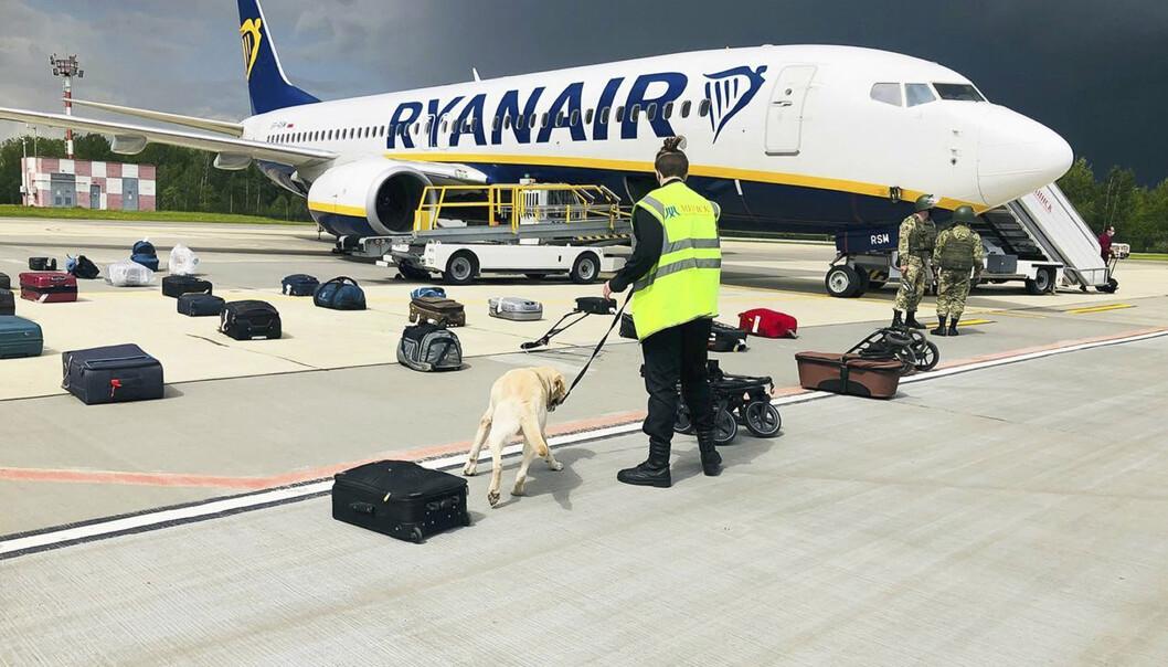 UNNGÅR: En rekke flyselskap unngår nå på oppfordring fra EU og flere lands myndigheter luftrommet over Hviterussland,