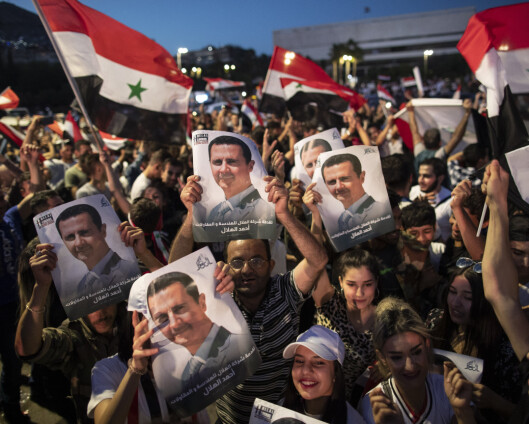 Assad gjenvalgt i Syria