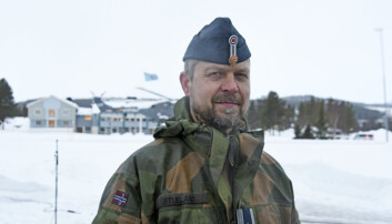 Oberst Eirik Stueland kjenner seg ikke igjen i kritikken som blir reist mot Luftforsvaret.