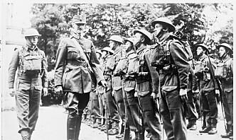 Briter hedret norske veteraner fra andre verdenskrig