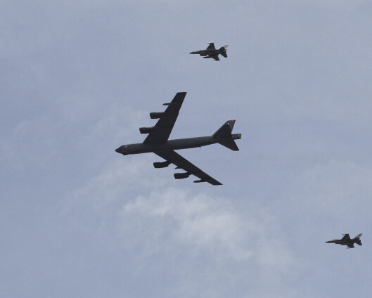 Amerikanske B-52 skal overfly 30 Nato-land på én dag