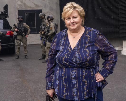 Erna Solberg: – Uakseptabelt hvis allierte føler behov for å spionere på hverandre