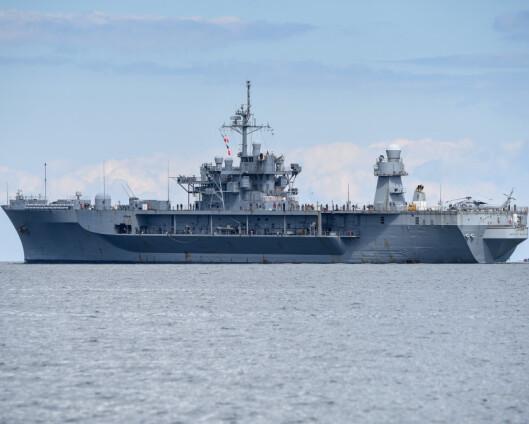 Amerikansk marinefartøy kommer til Oslo
